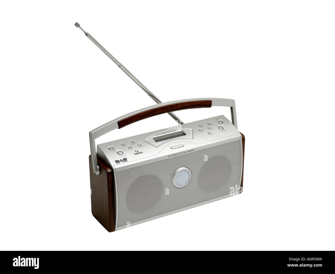 Digital radio DAB - Stock Image