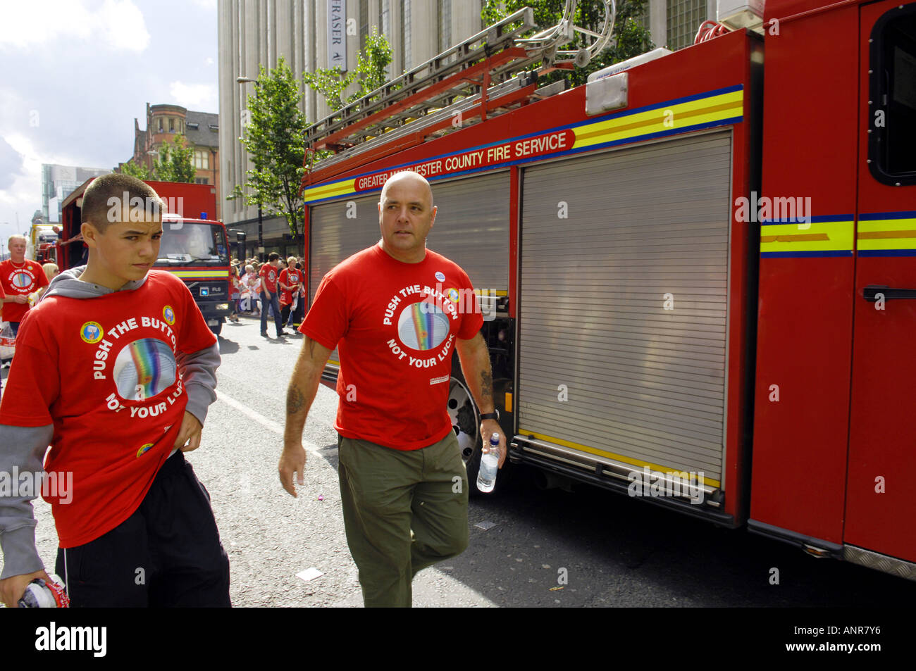 Many fireman are gay