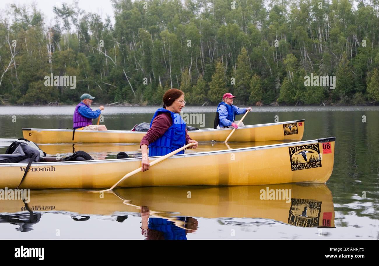 Boundary Waters Canoe Area - Stock Image