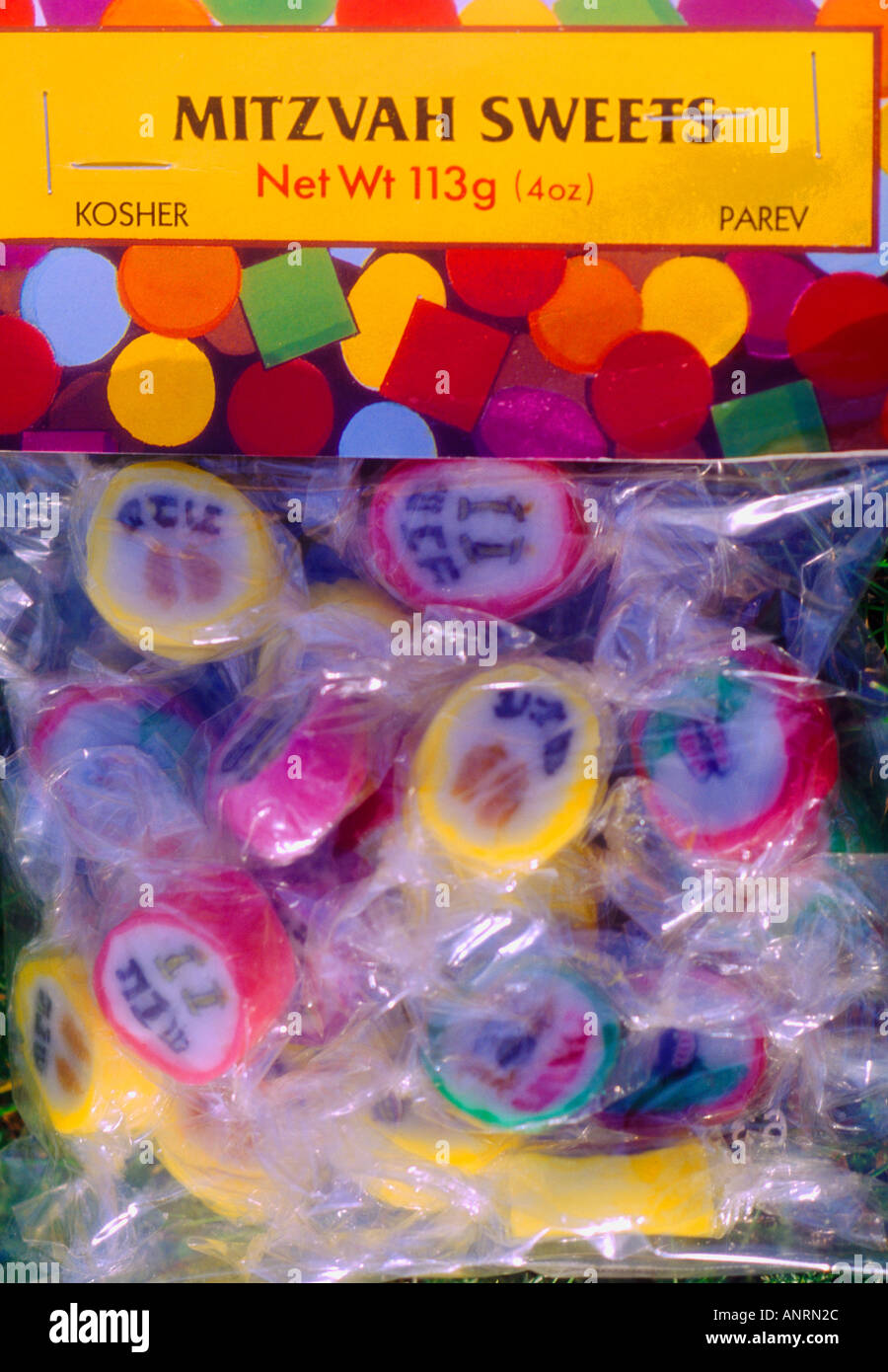 Mitzvah Sweets - Stock Image