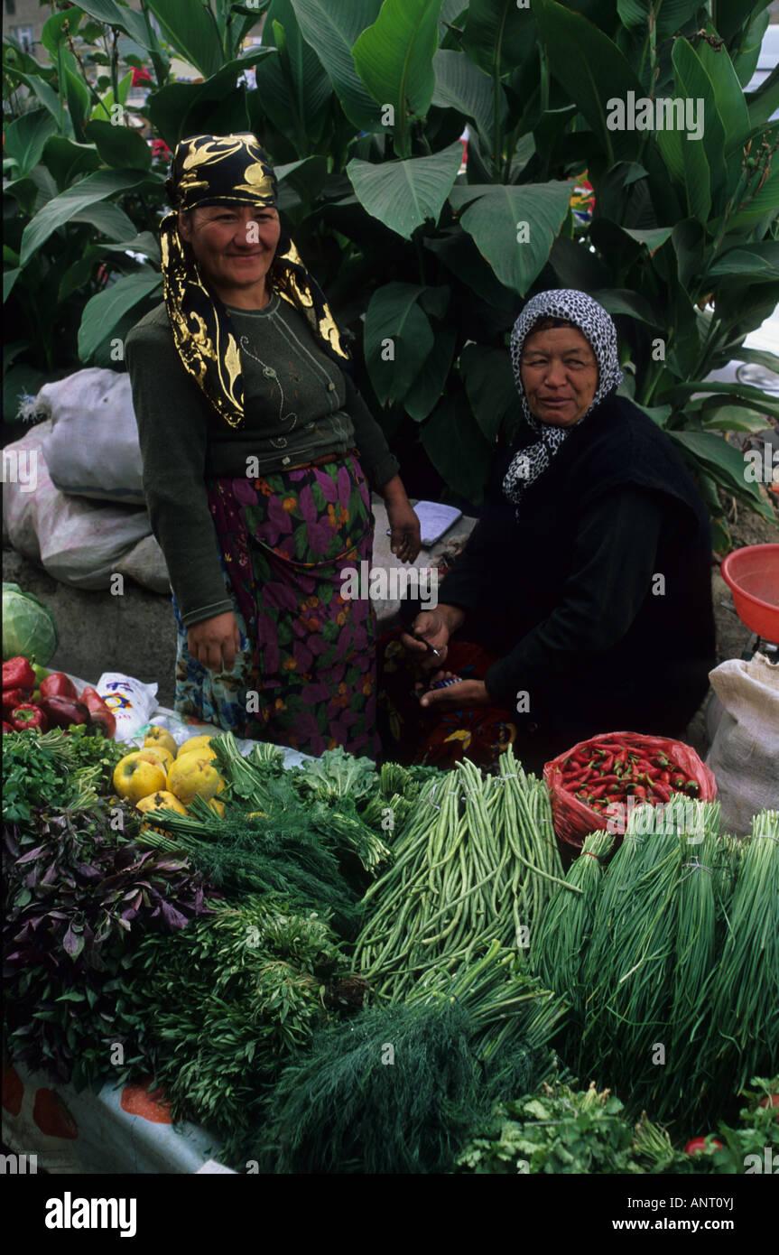 A Market at Osh, Kyrgystan - Stock Image