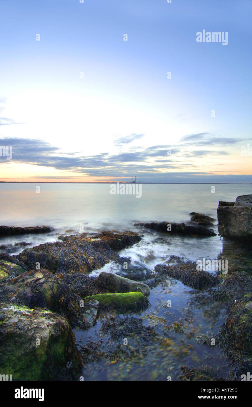 Coastal calm - Stock Image