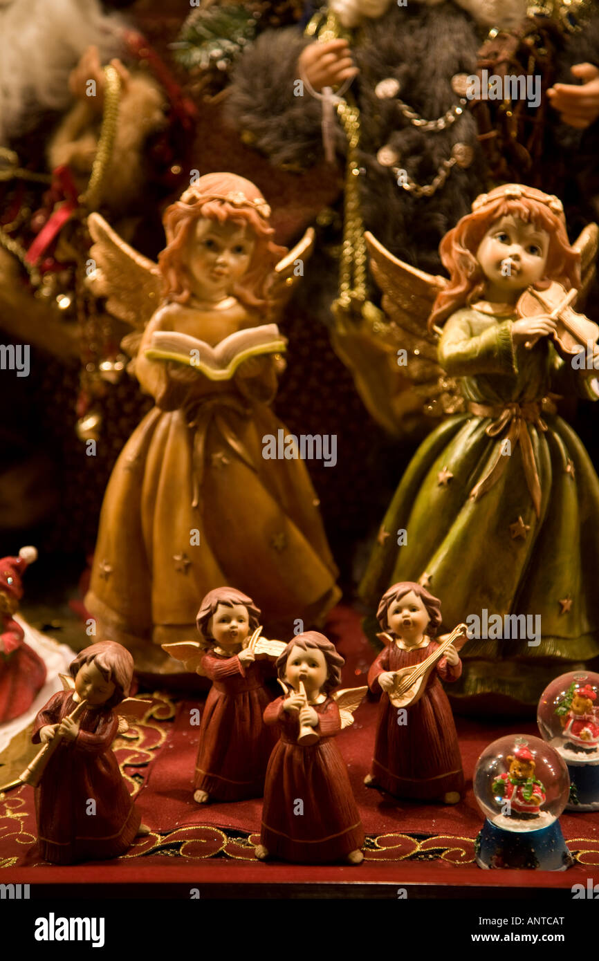 christmas angels for sale in nuremberg christmas market stock image - Christmas Angels For Sale