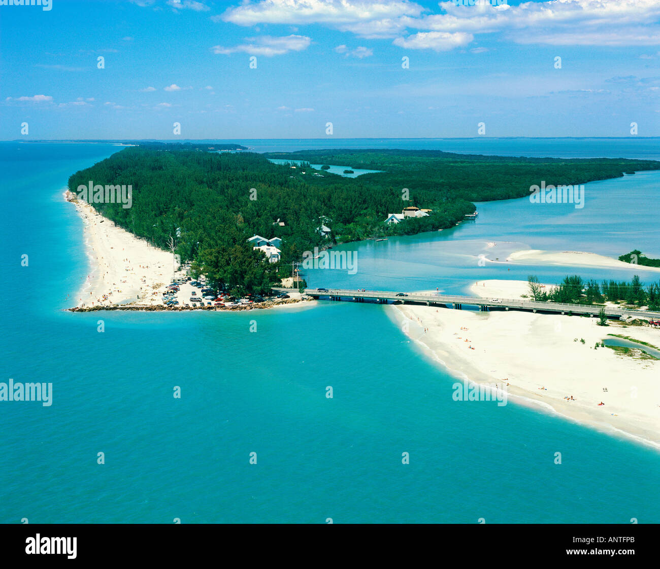 Captiva Island: USA FLORIDA SANIBEL CAPTIVA ISLAND BLIND PASS Stock Photo