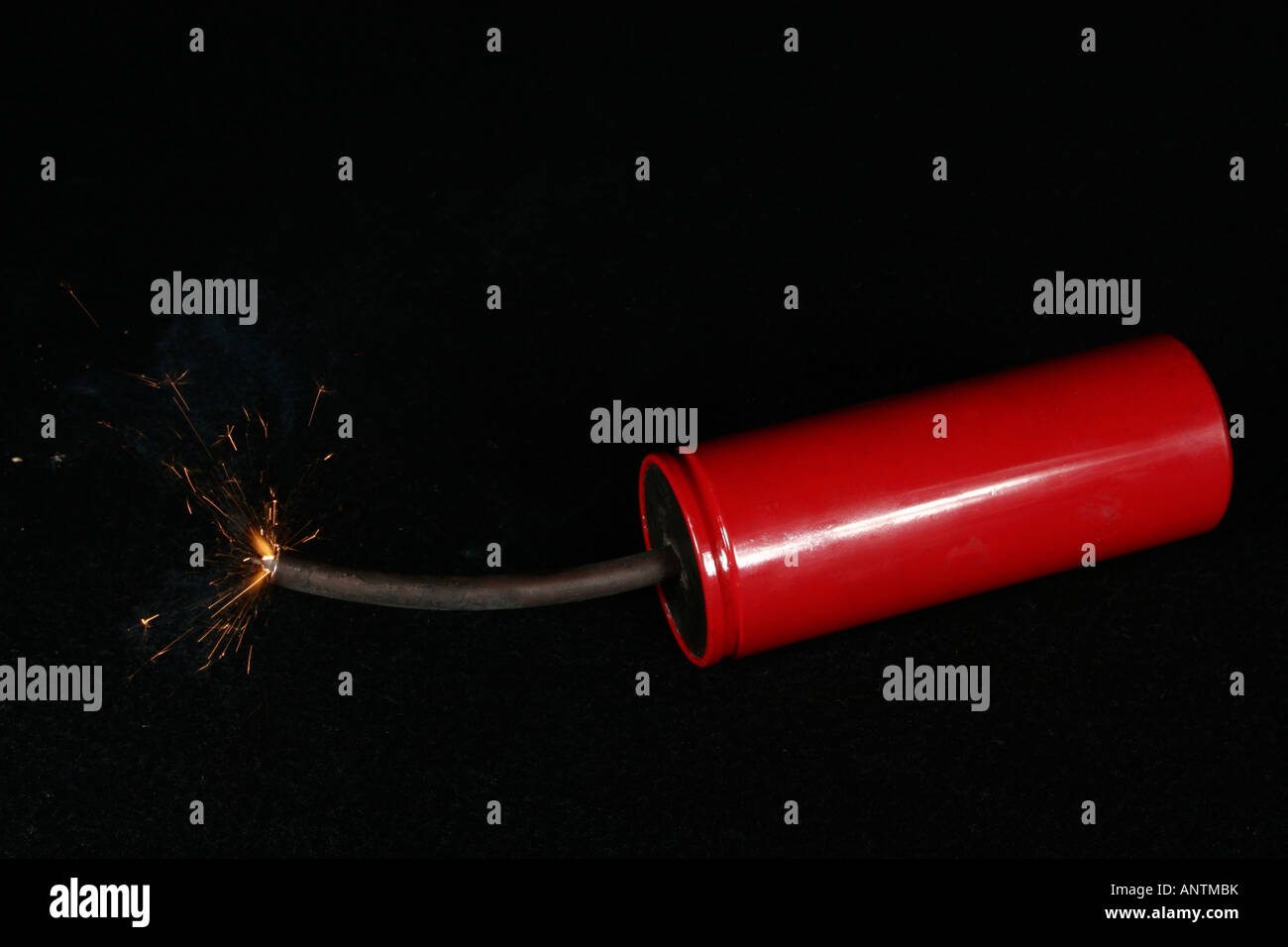 explosive charge - Stock Image