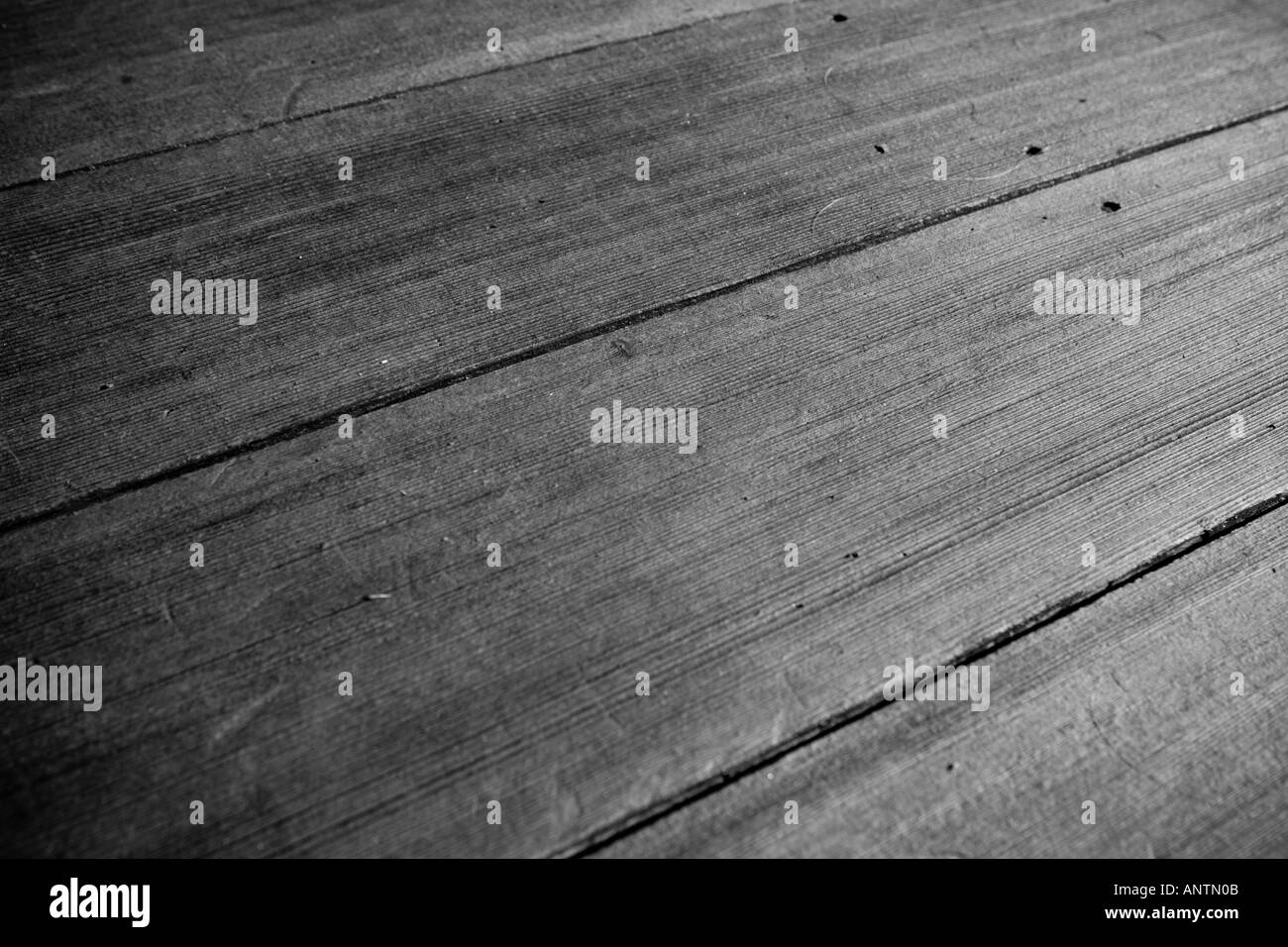 Parallel wooden planks - Stock Image