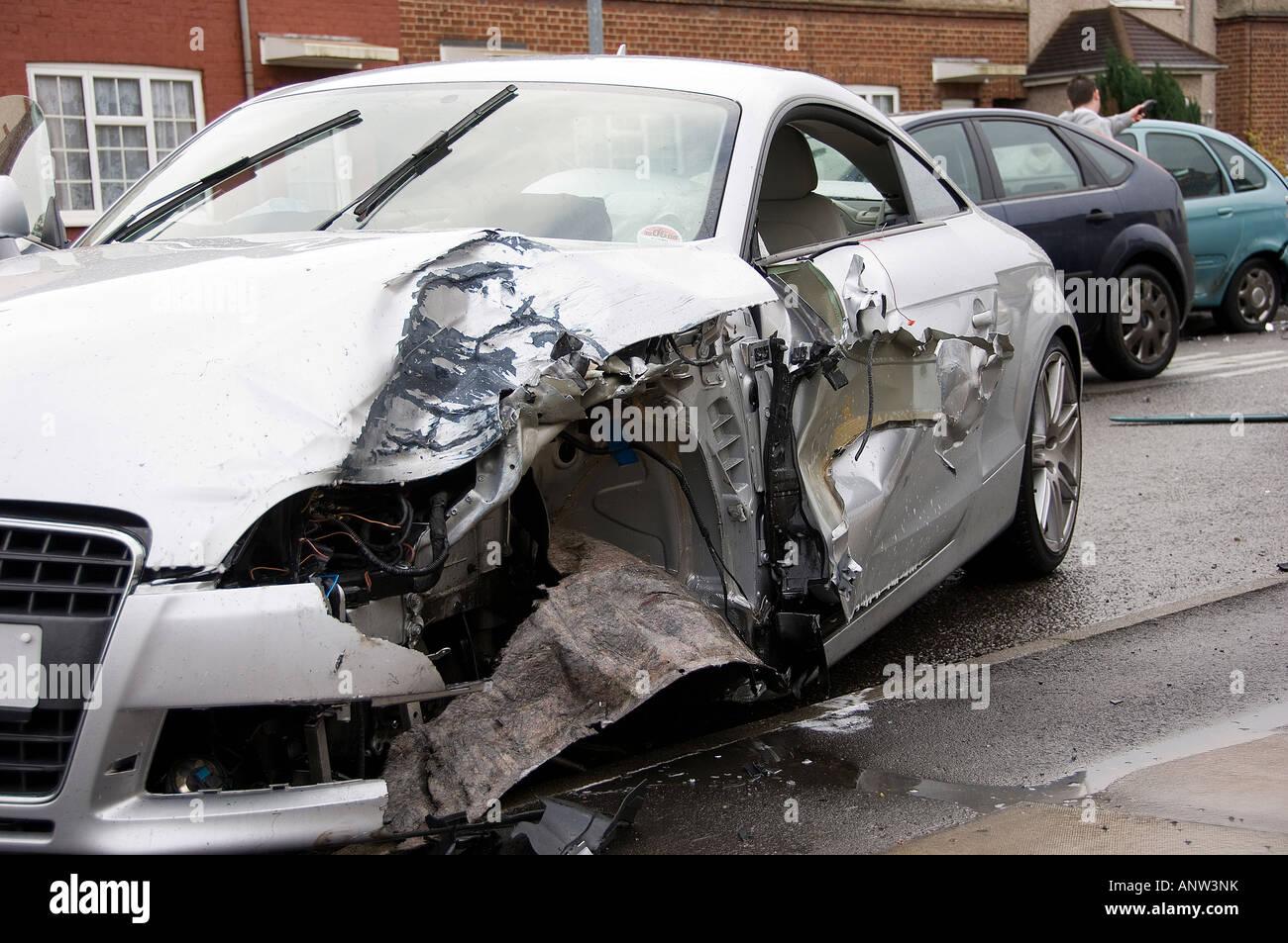 Expensive Car Crash Stock Photos Expensive Car Crash Stock Images