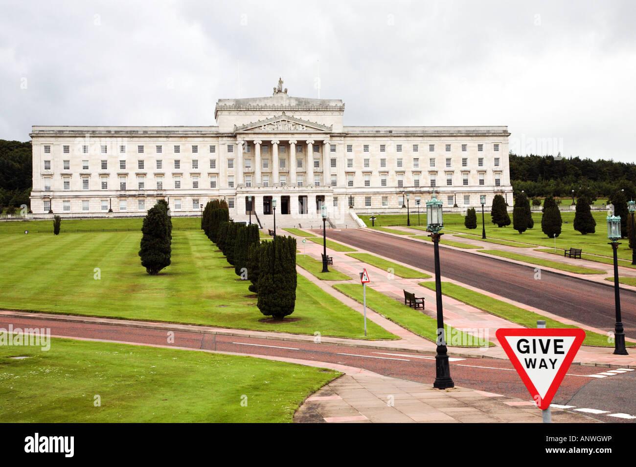 Stormont Belfast Northern Ireland - Stock Image
