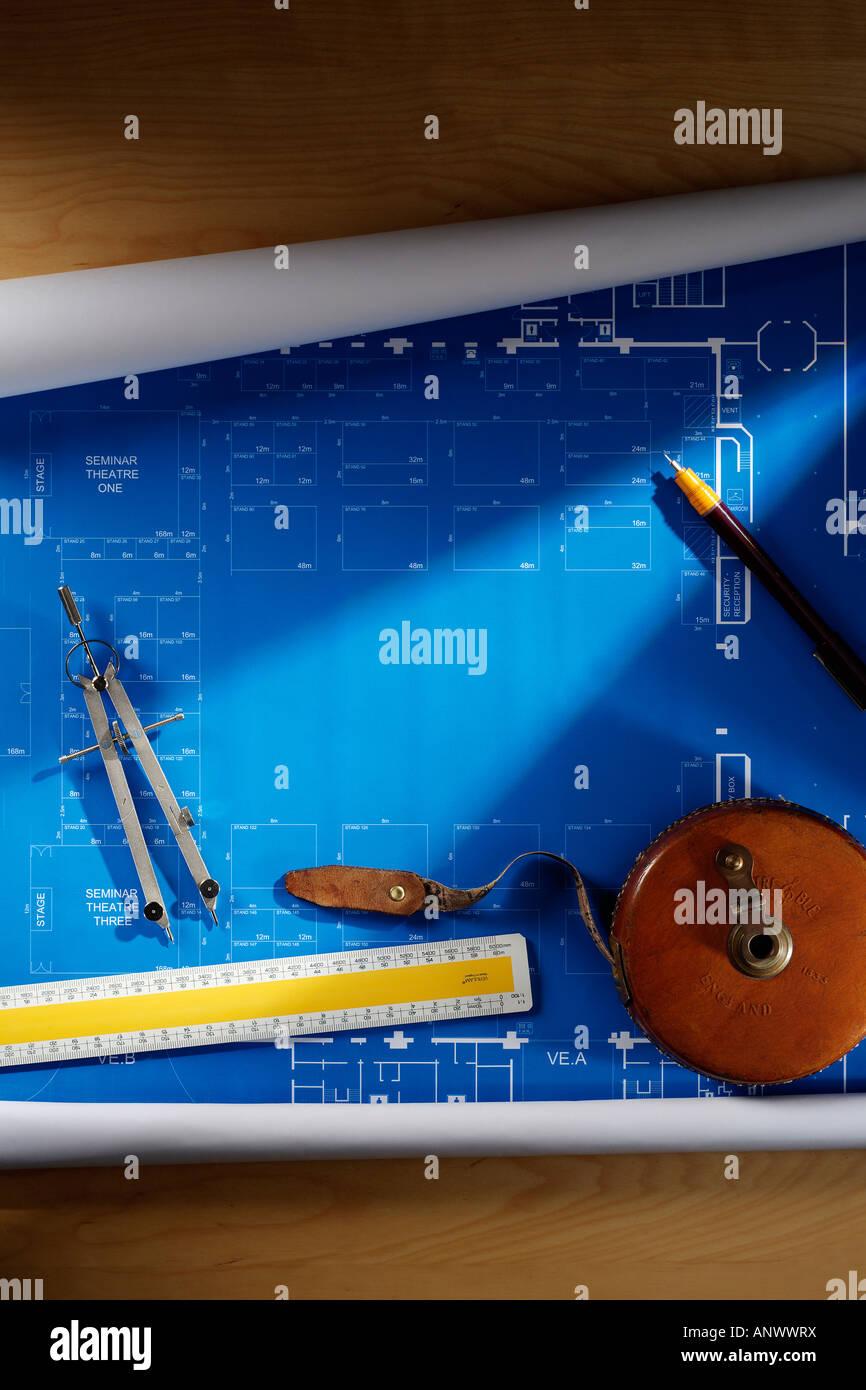 Plan - Stock Image