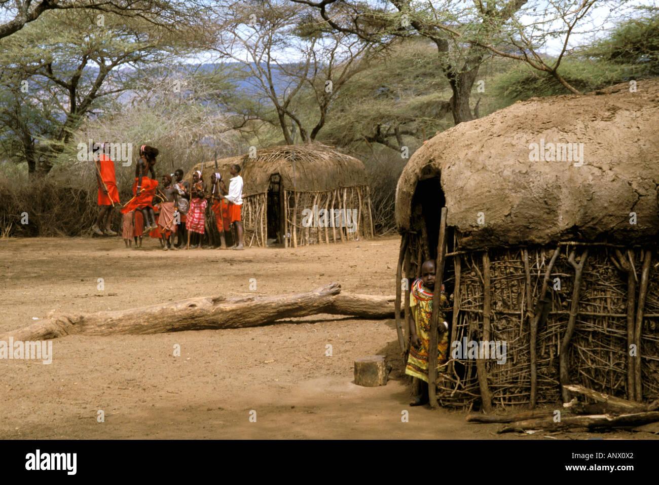 Africa Kenya Masai Mara Kraal Manyatta Jumping Stock. Masai Kraal Manyatta Jumping Houses. Wiring. Diagram Of A House A Manyatta At Scoala.co