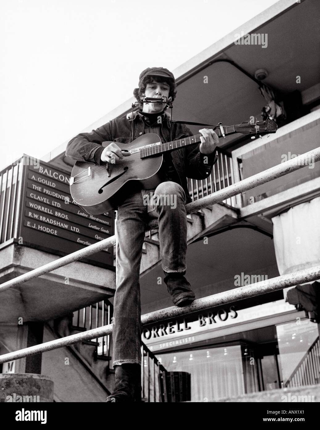 DONOVAN Leitch UK folk singer in 1966 - Stock Image
