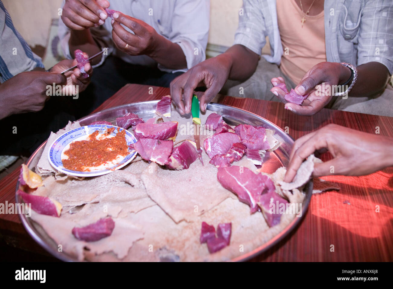 Ethiopian Beef Stock Photos & Ethiopian Beef Stock Images