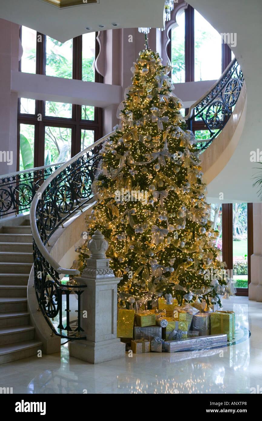 Christmas Palace.India Karnataka Bangalore Leela Palace Hotel Christmas