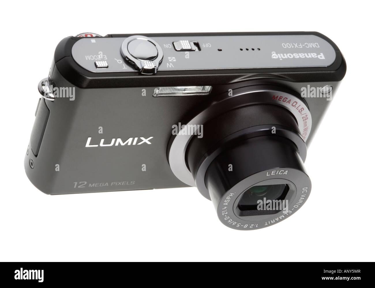 12 megapixels digital compact camera - Stock Image