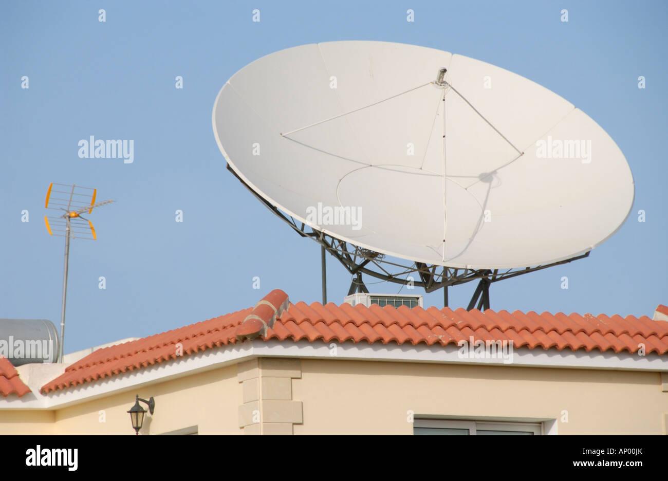 home satellite dish stock photos home satellite dish stock images