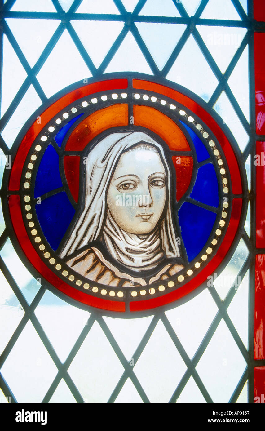 Nice France Therese of Avilon Saint Therese of the Infant Jesus Carmalite - Stock Image