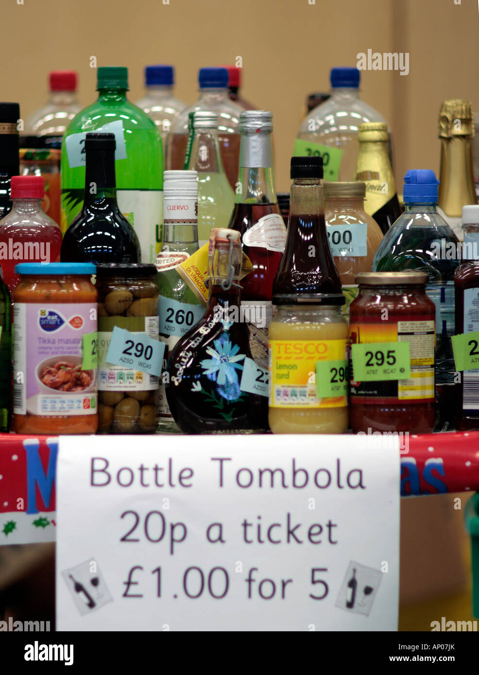 Bottle Tombola Stock Photos Amp Bottle Tombola Stock Images