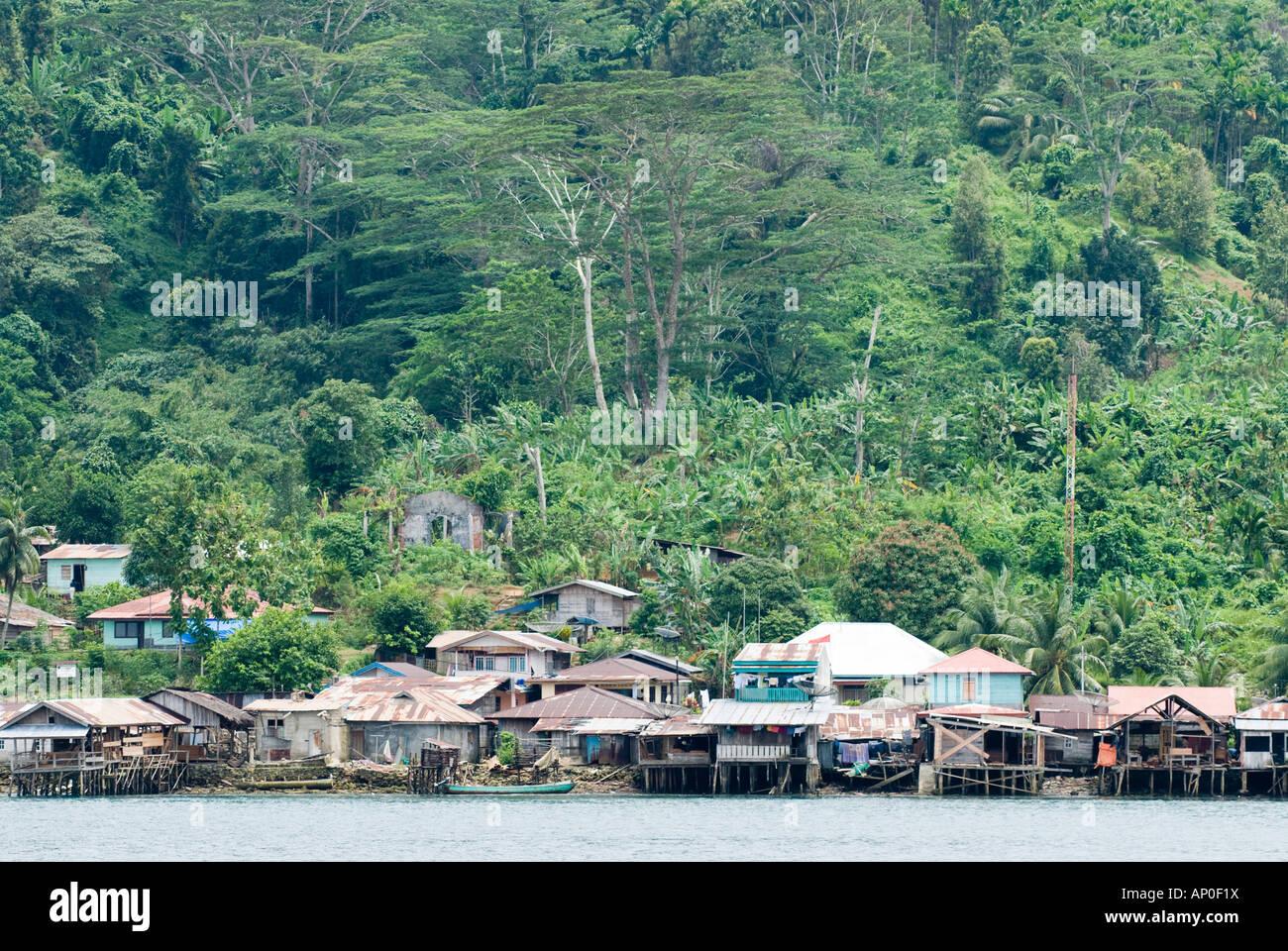 Sikakap Mentawai Islands Indonesia - Stock Image