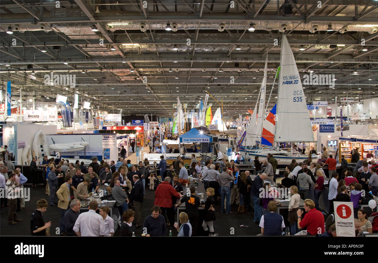 Excel Exhibition Centre - London Boat Show 2008 - Stock Image