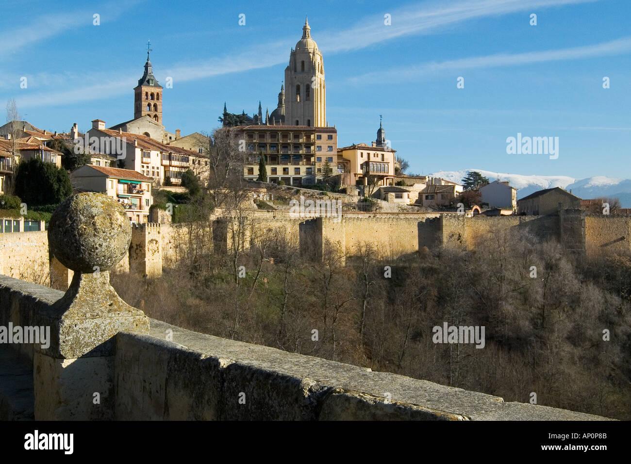 Cathedral Segovia Stock Photo