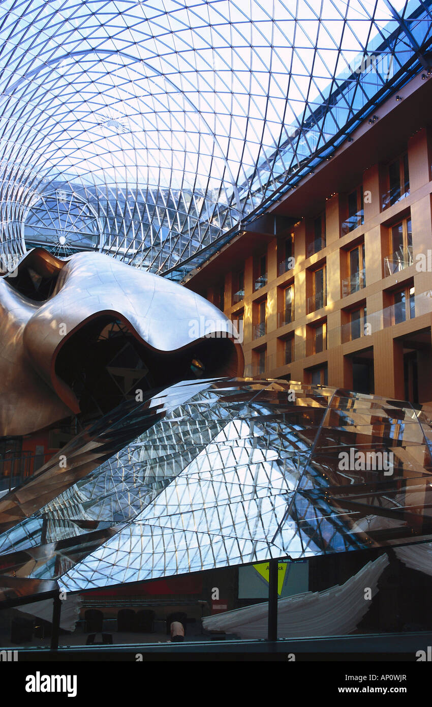 DL Bank by Frank Gehry, Berlin, Germany - Stock Image