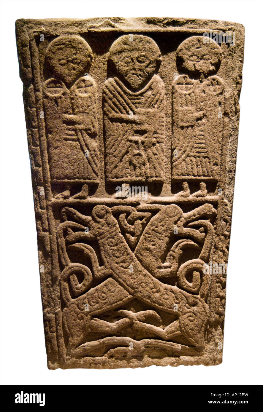 Stone tablet saint scotland scot scottish celt celtic