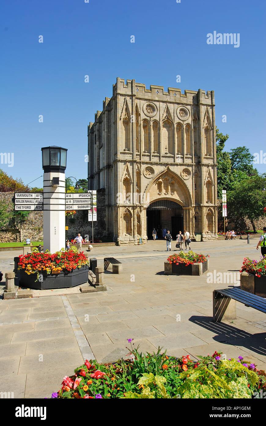 Bury St Edmunds, Suffolk, UK - Stock Image