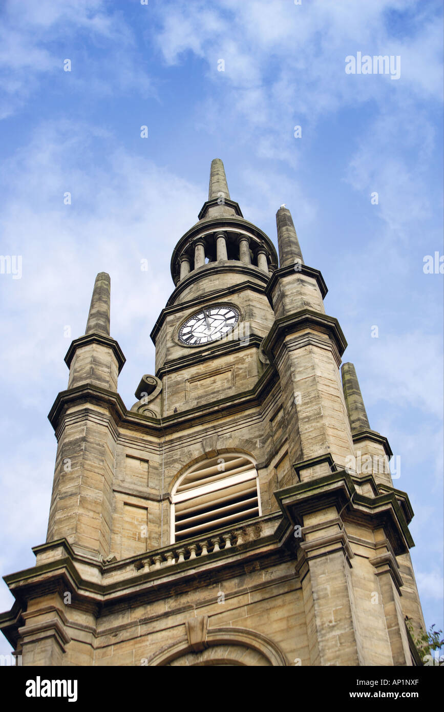 Clock Tower Glasgow Scotland UK - Stock Image