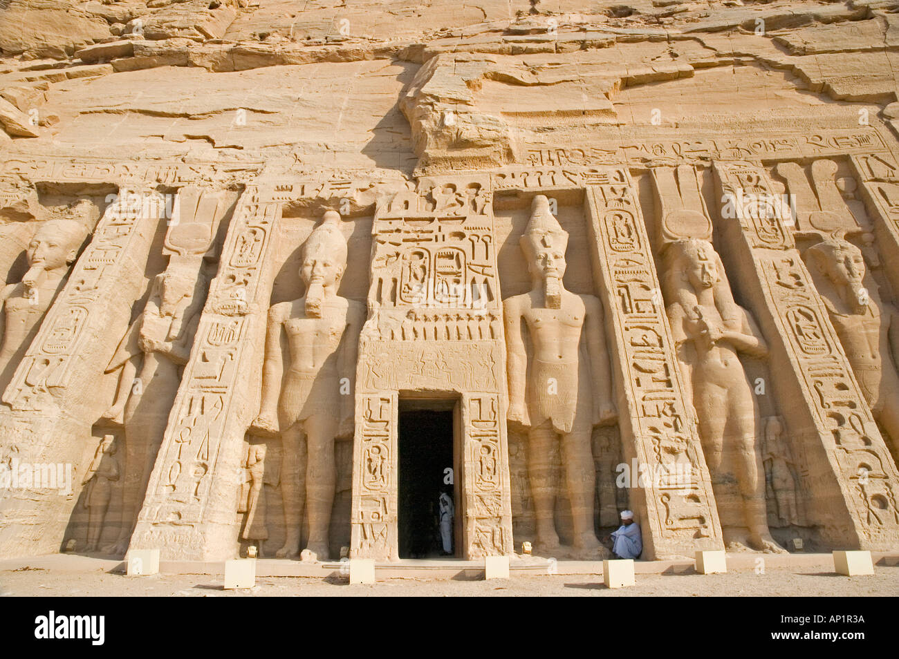 Temple of Hathor of Abu Simbel Upper Egypt Middle East DSC_4262 - Stock Image