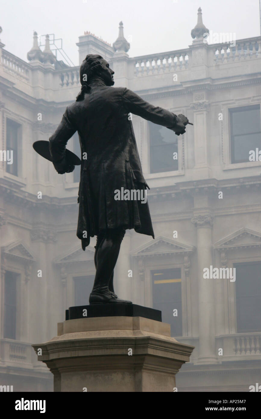 Mist Royal Academy of Arts Picadilly - Stock Image