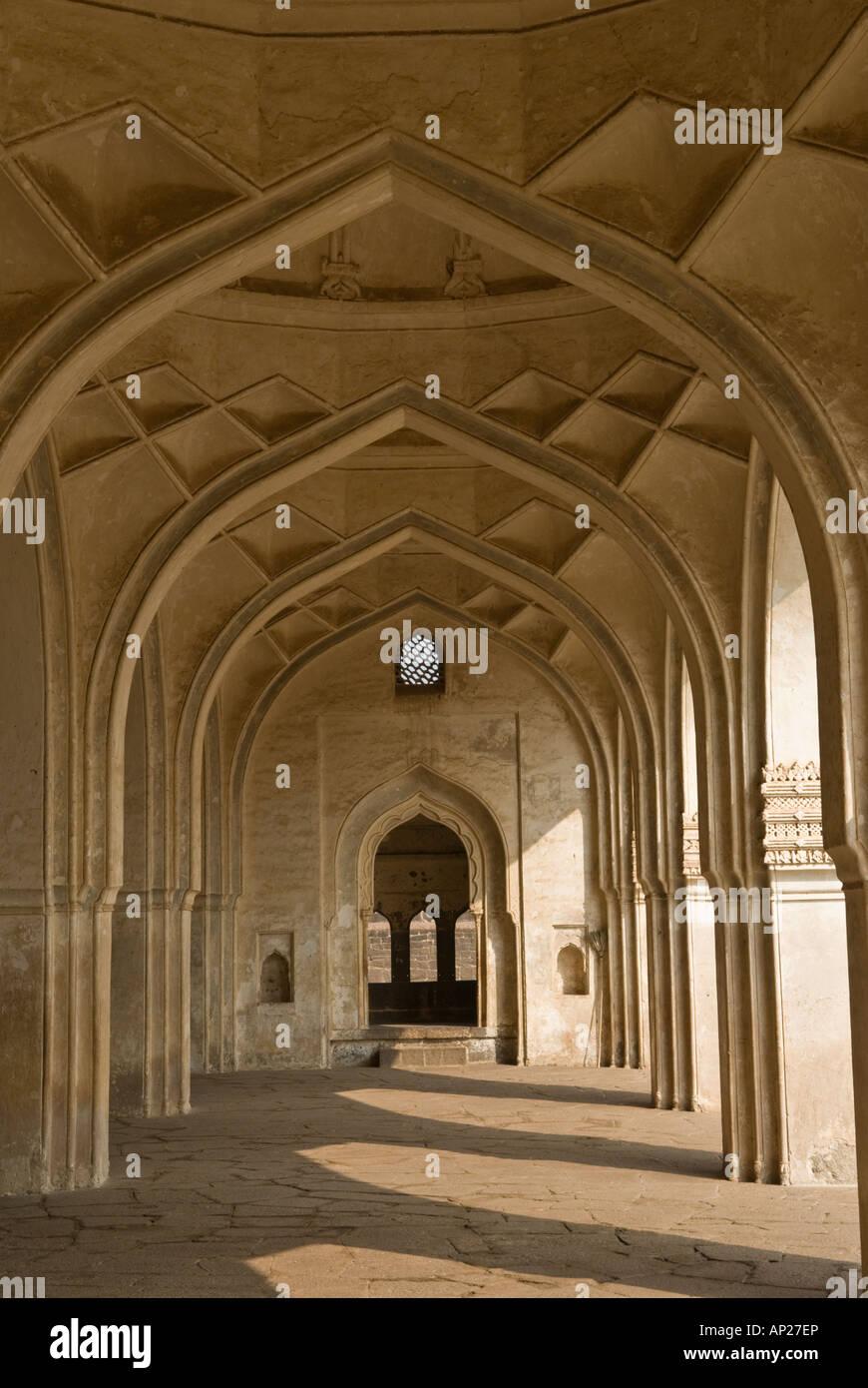 Ibrahim Roza Mausoleum Bijapur Karnataka India Stock Photo