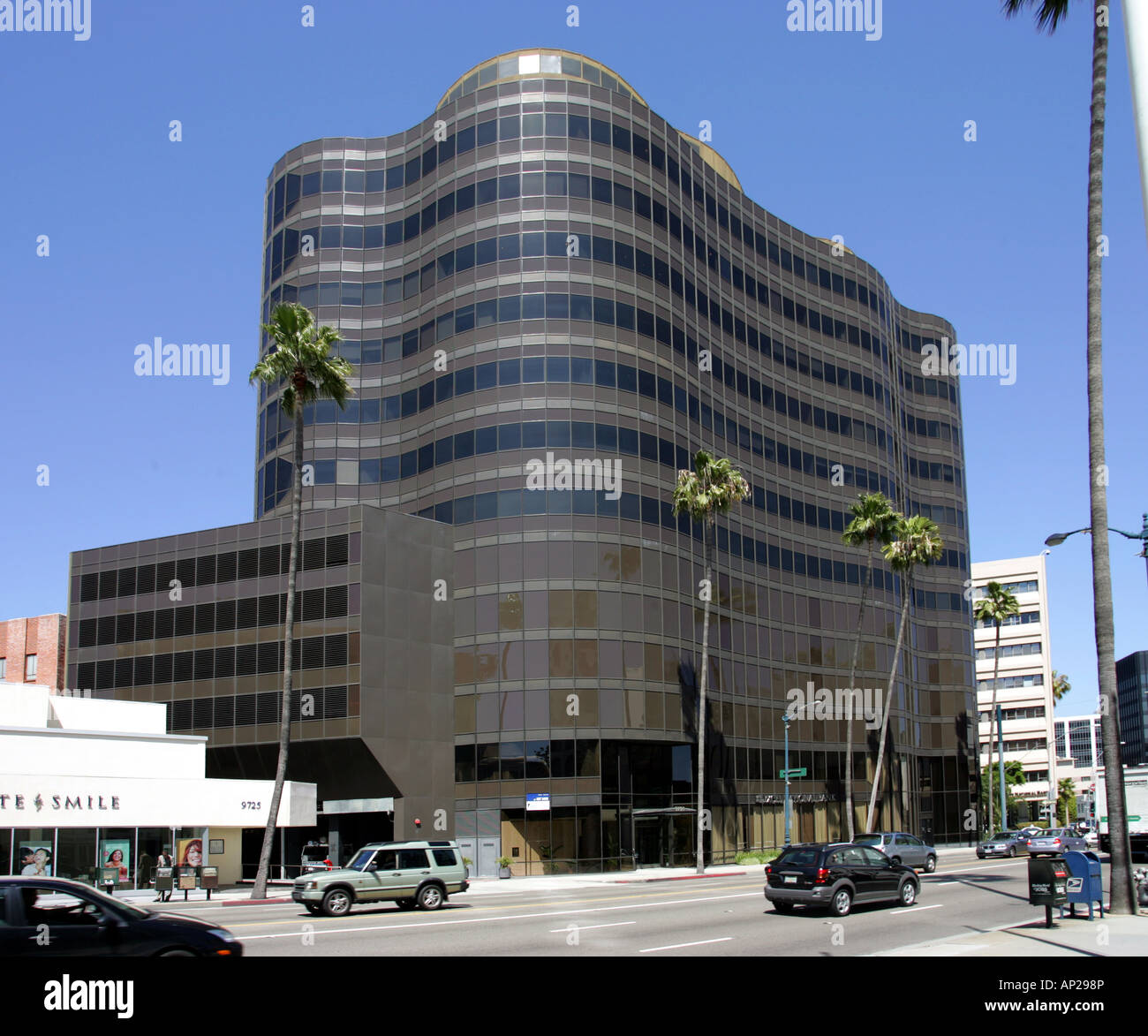 Pacific Wilshire Plaza - Stock Image