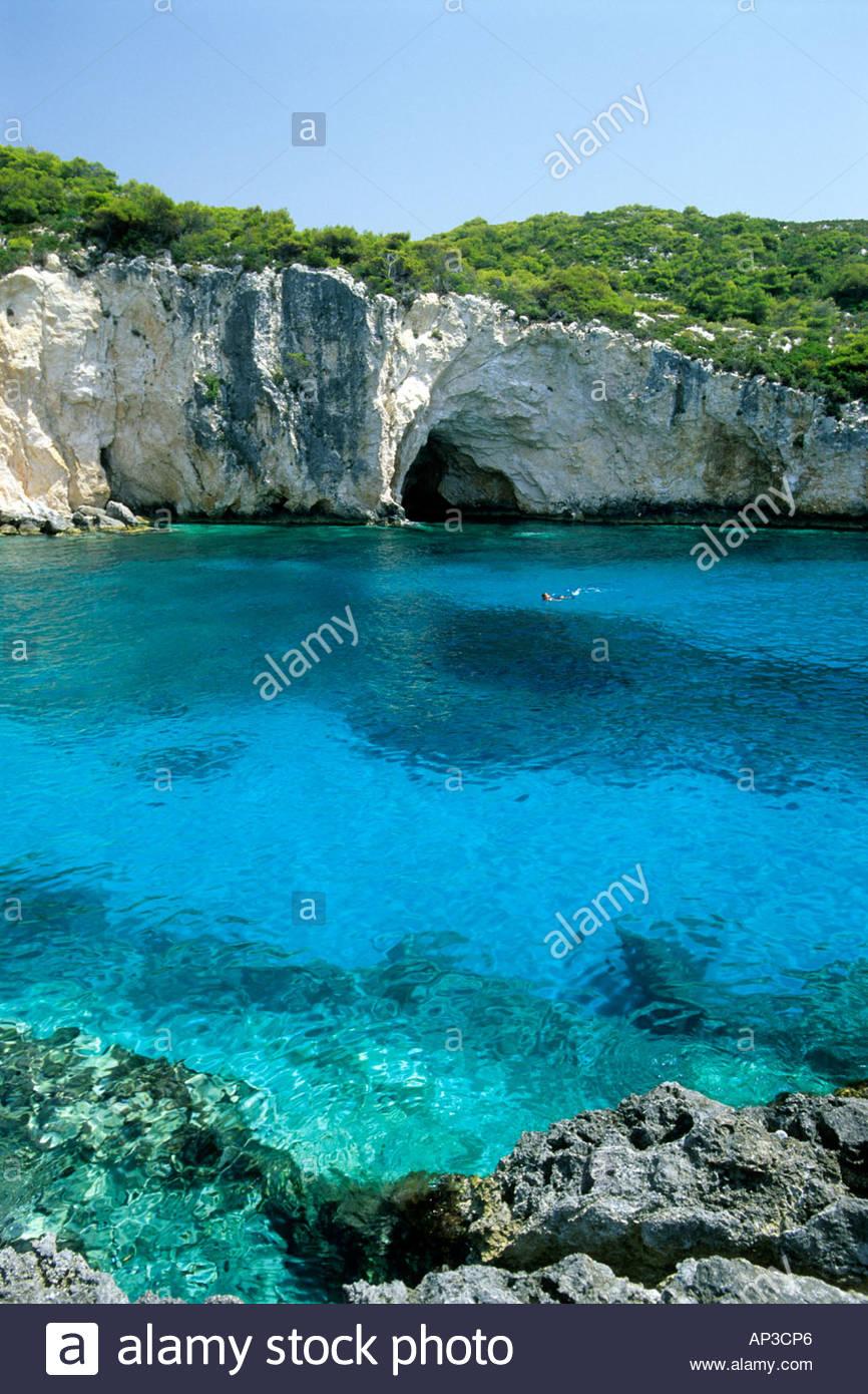 Porto Vroma Zakynthos Ionian Islands Greek Islands Greece - Stock Image