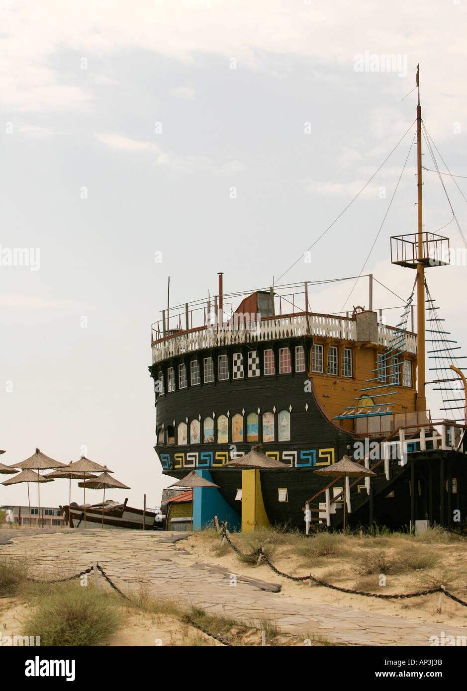 Sunny Beach Bulgaria Pier