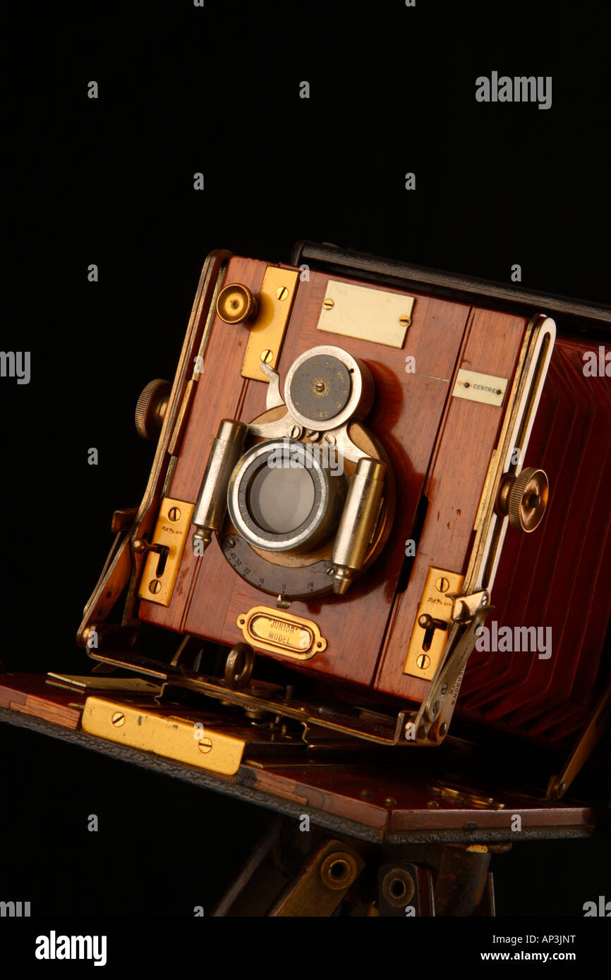 Large Format Camera, Sandersons Junior Model. - Stock Image