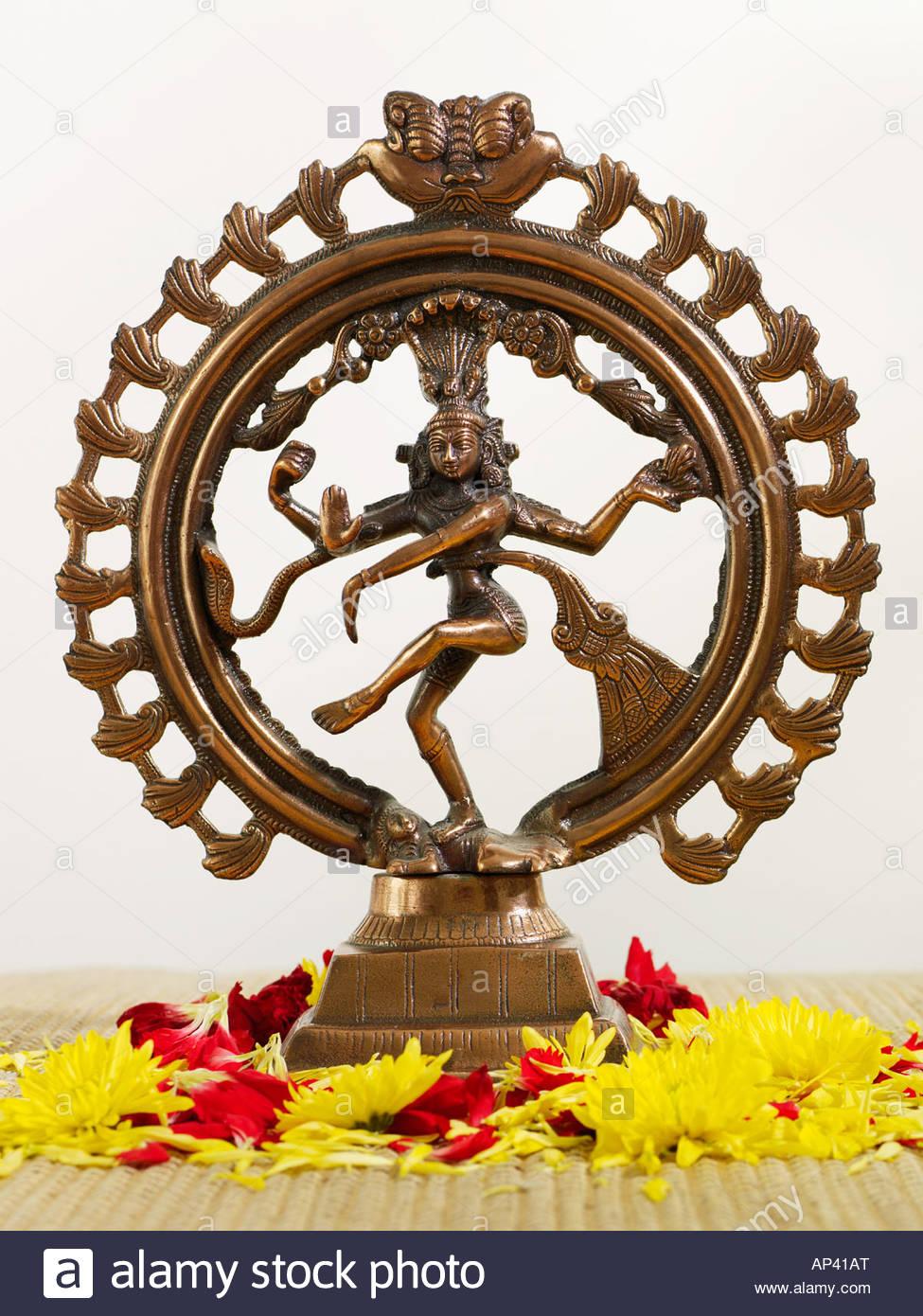 Shiva statuette Stock Photo