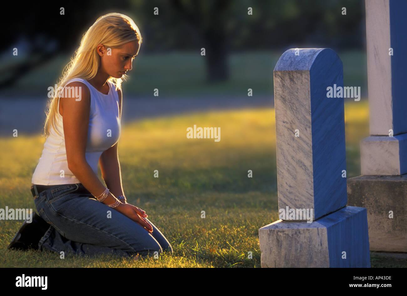 Sorrow - Stock Image