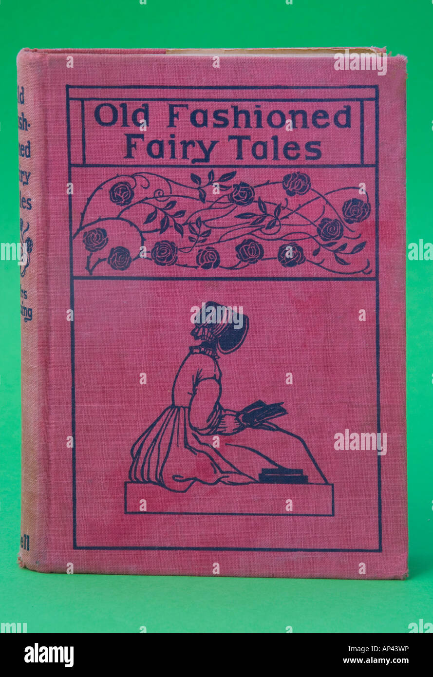 Old book of fairy tales - Stock Image