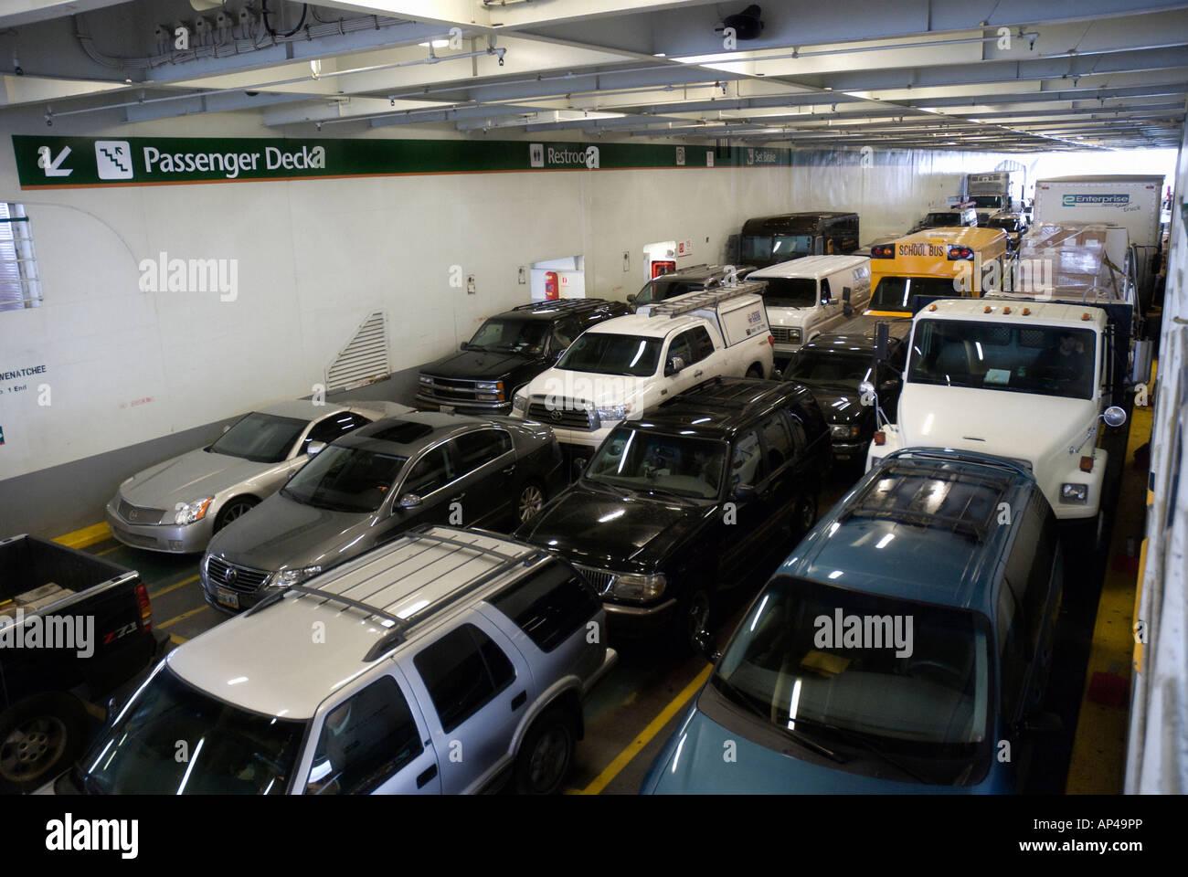 Wenatchee Car Dealers >> Ferry Wenatchee Vehicle Deck Ferry Between Seattle