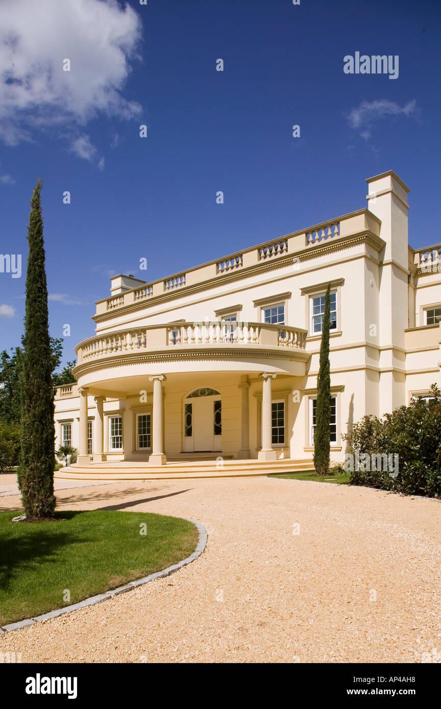 modern georgian style house Stock Photo: 8954775 - Alamy on