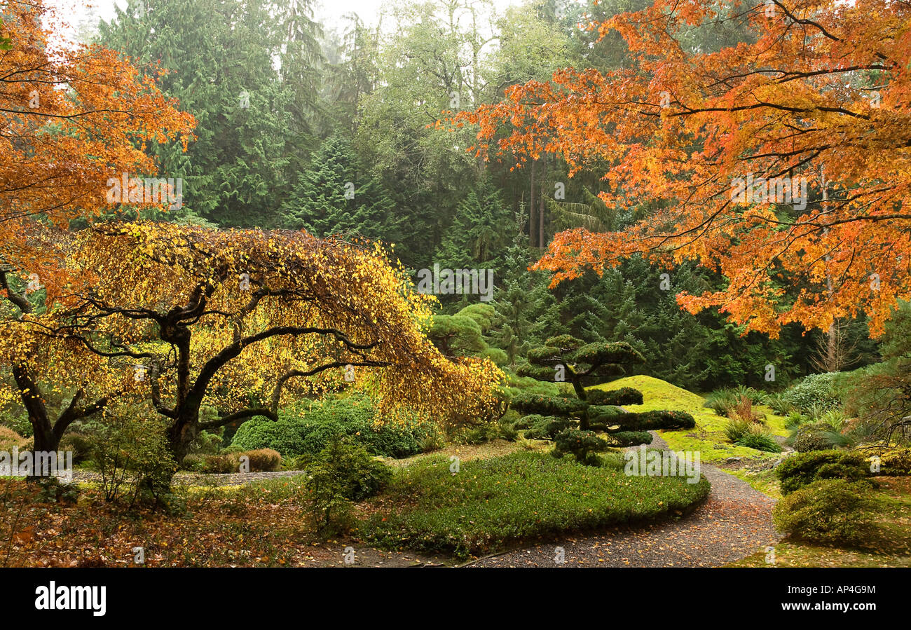 Japanese Garden At Bloedel Reserve Bainbridge Island Washington