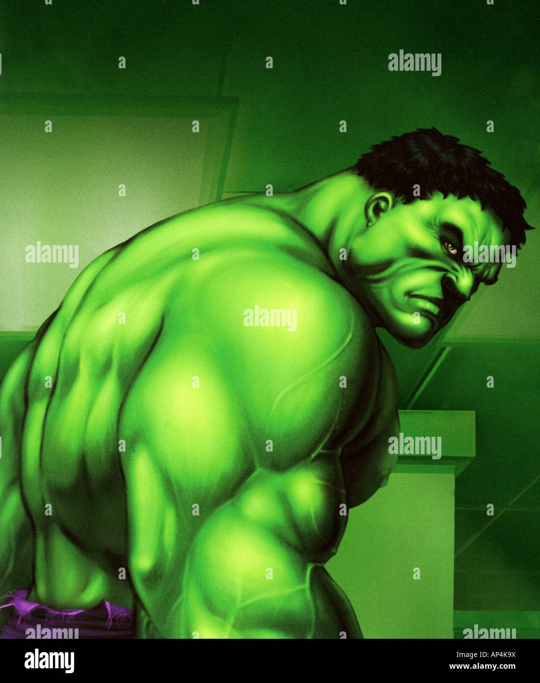THE HULK - still from the 2003 Universal film directed by Ang Lee based on the Marvel Comics character - Stock Image
