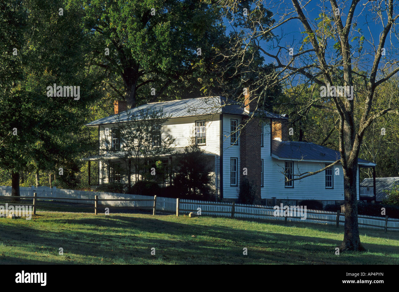 McCowen Mangum House, Durham, North Carolina, USA - Stock Image