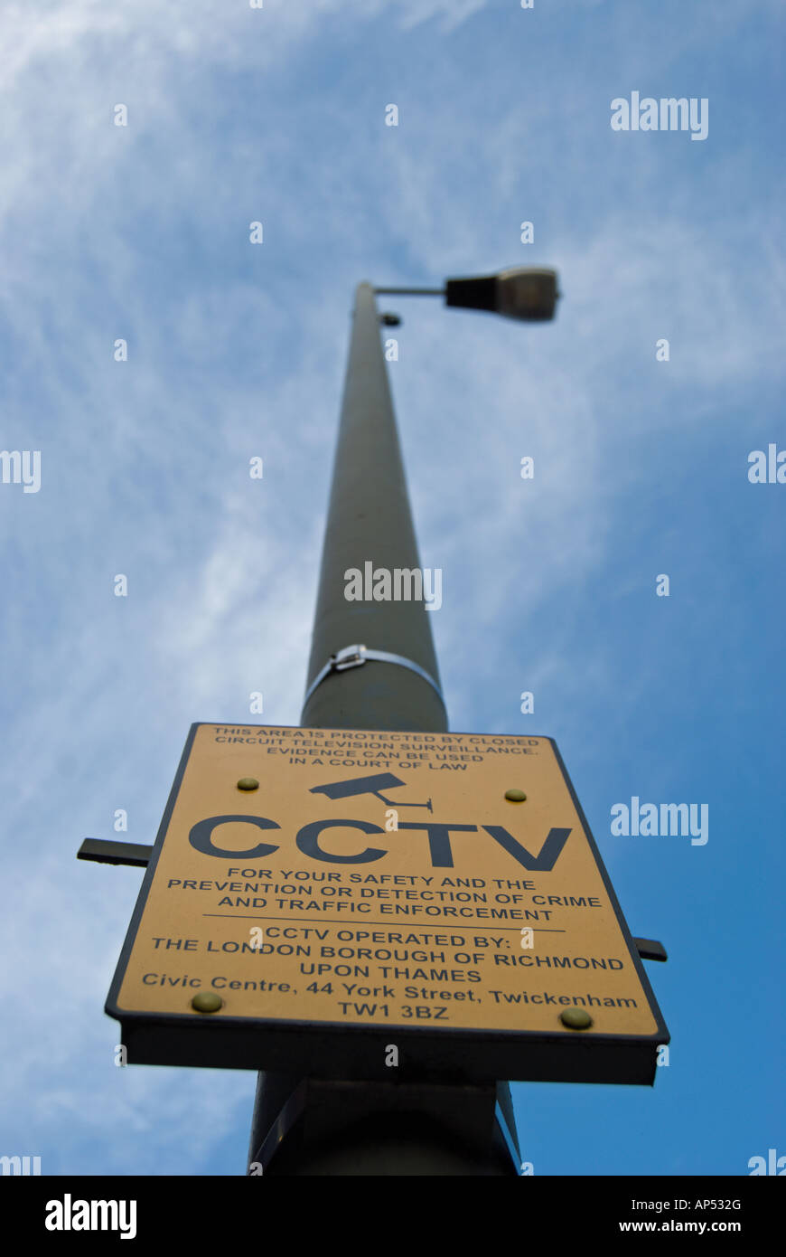 Cctv Camera On A Post Stock Photos Amp Cctv Camera On A Post