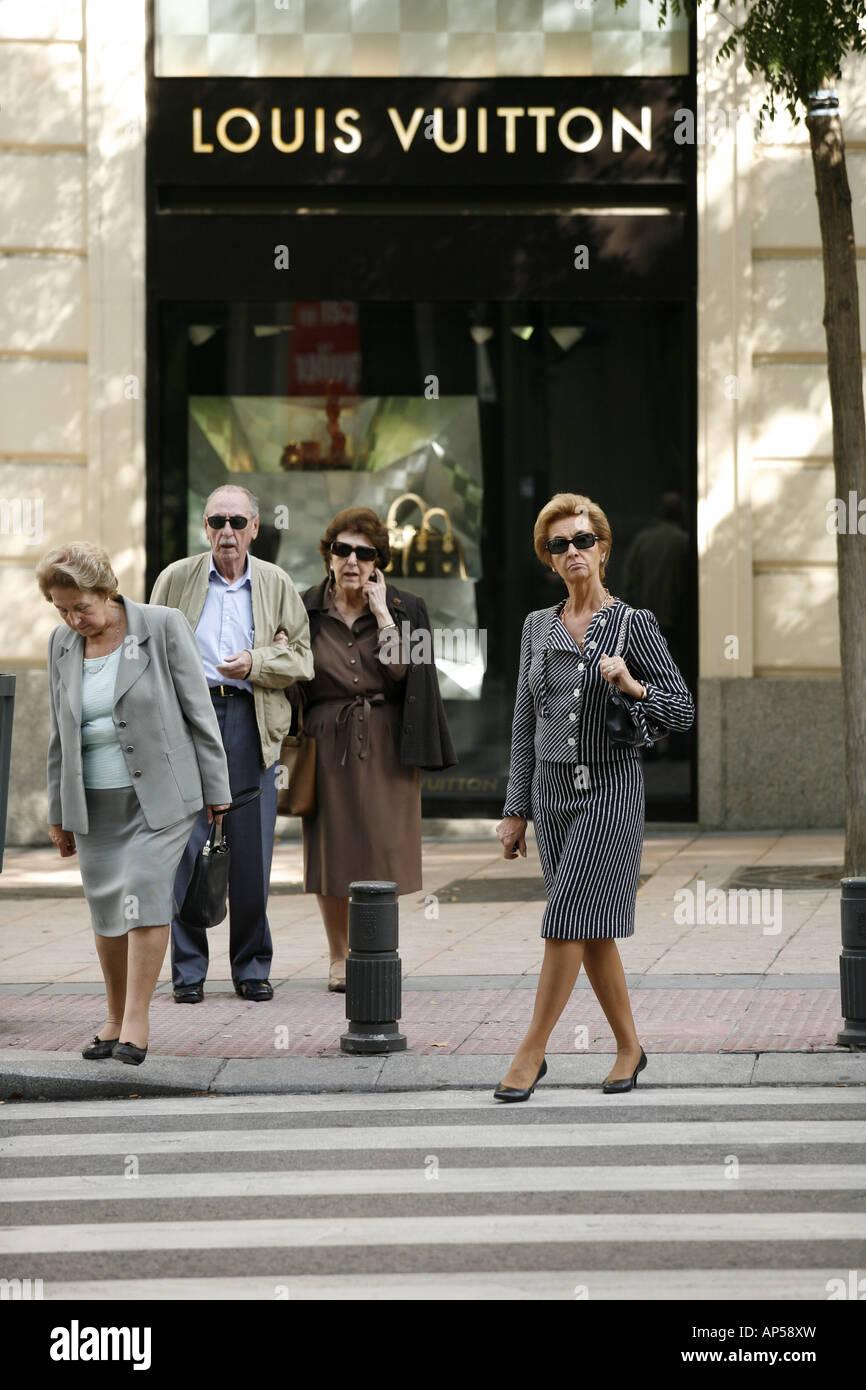 Salamanca district, Madrid, Spain - Stock Image