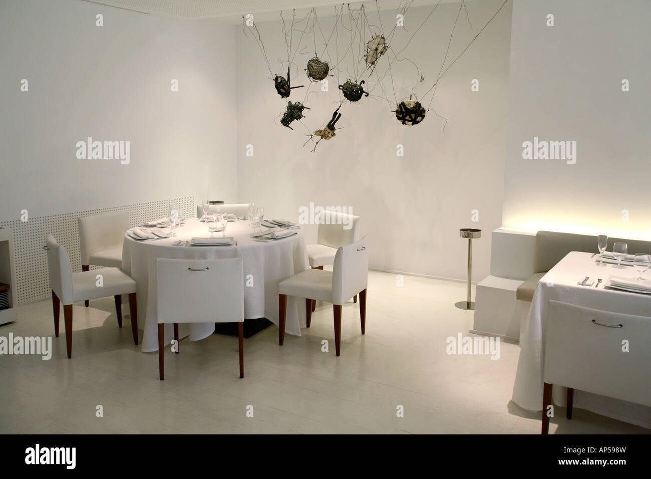 La Broche restaurant, Madrid, Spain Stock Photo
