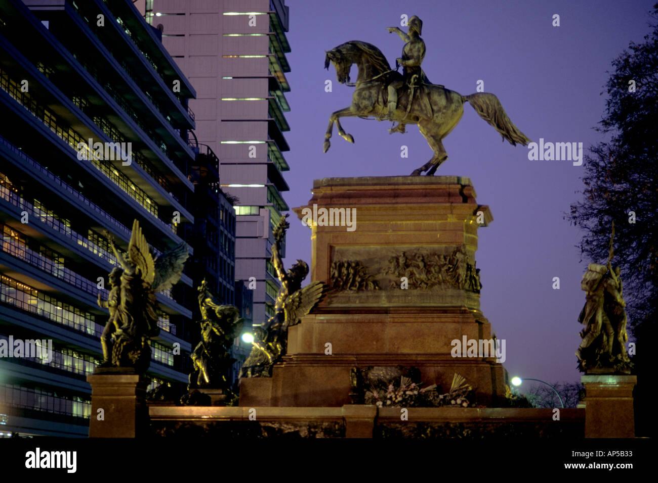 Argentina Buenos Aires Plaza San Martin - Stock Image