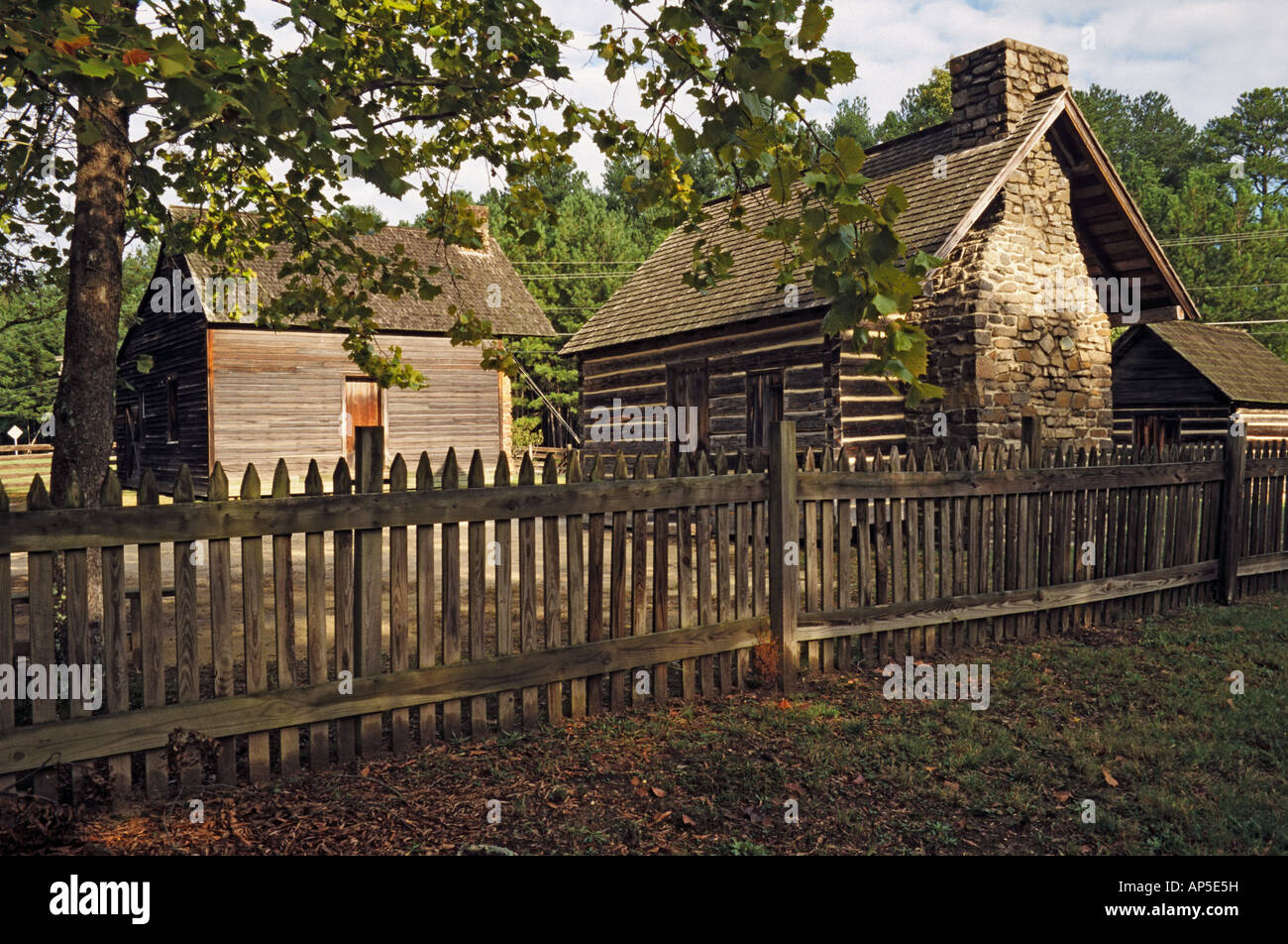 Benett Homestead, Durham, North Carolina, USA - Stock Image
