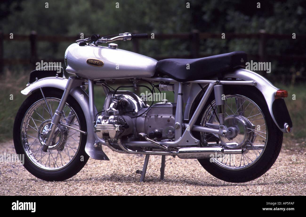 Wooler Motorcycle - Stock Image
