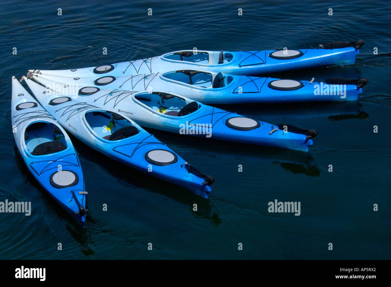Perception Kayak Kayaks Stock Photos & Perception Kayak Kayaks Stock